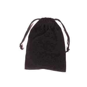 Packaged in Black Velvet Bag
